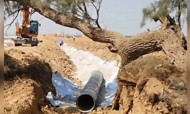 Israel constructing fourth water pipe into Gaza to provide additional water to Palestinians