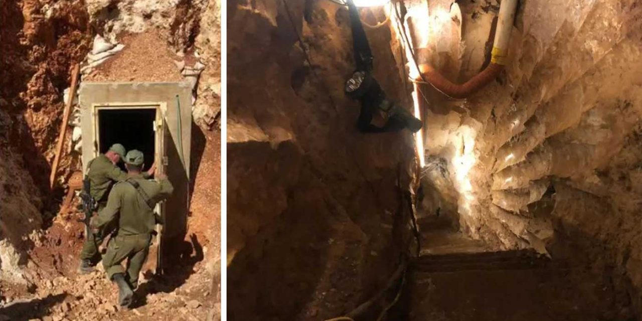 Israel seals off largest Hezbollah terror tunnel that was 22 stories deep
