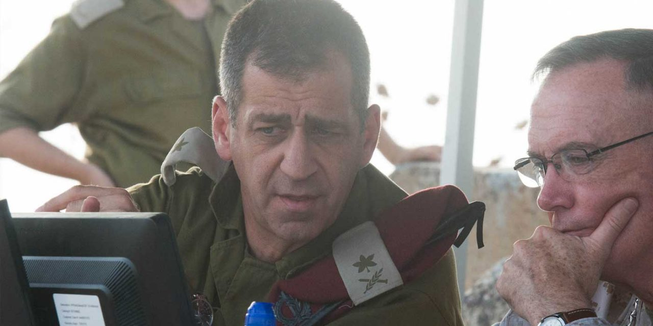 """IDF head says Hamas has """"morphed from a terrorist group into an army"""""""