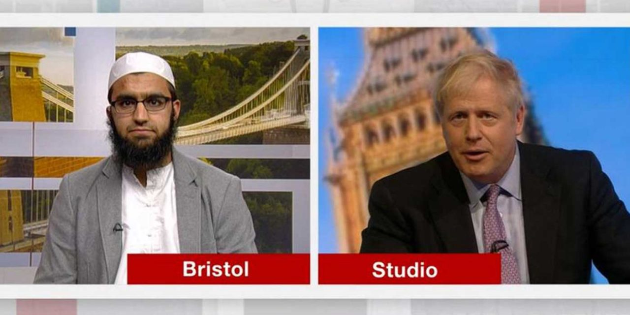 BBC selects deeply anti-Semitic imam to ask question during Tory leadership debate