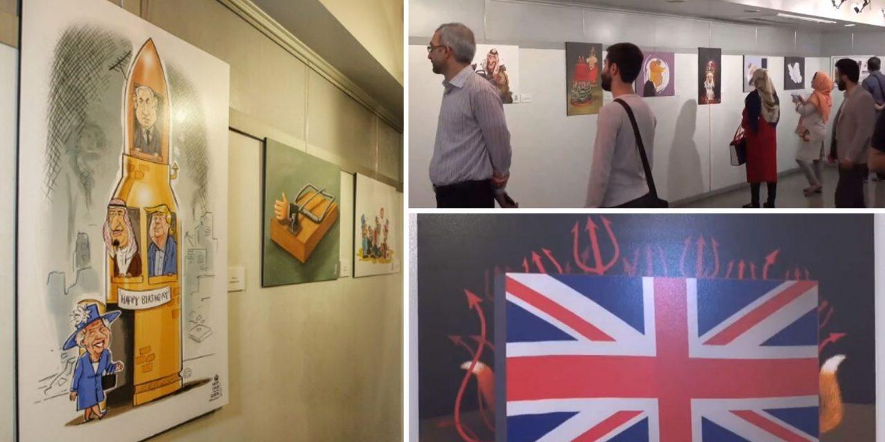 Iran opens anti-British cartoon exhibit on Queen's birthday