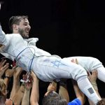 In first, Israeli wins European fencing championship
