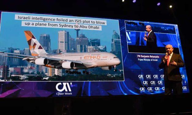Netanyahu: Israel used cyber intel to thwart 50 ISIS terror attacks around the world