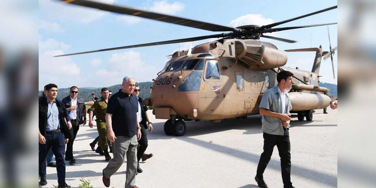 "Netanyahu to Israel's enemies: ""IDF has very great power… don't test us"""