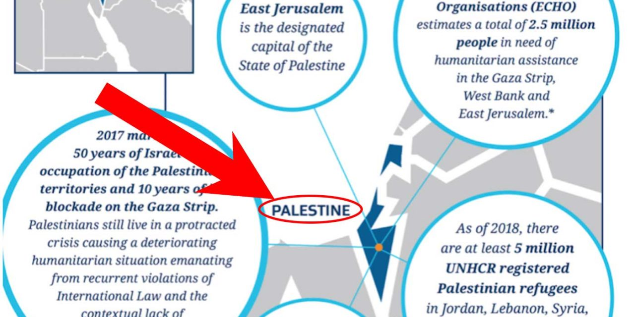 """New Zealand government website wipes Israel off map, replaces it with """"Palestine"""""""