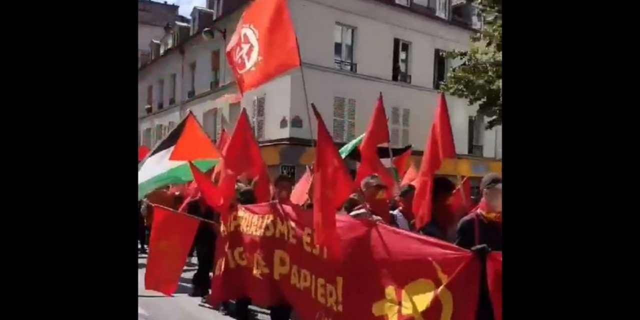 """PARIS: """"Death to Israel"""" chanted at march supporting imprisoned terrorist"""
