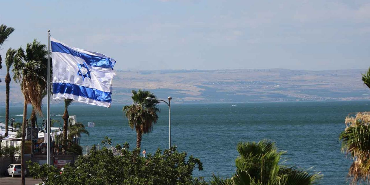 Sea of Galilee water level at 27-year high for early September