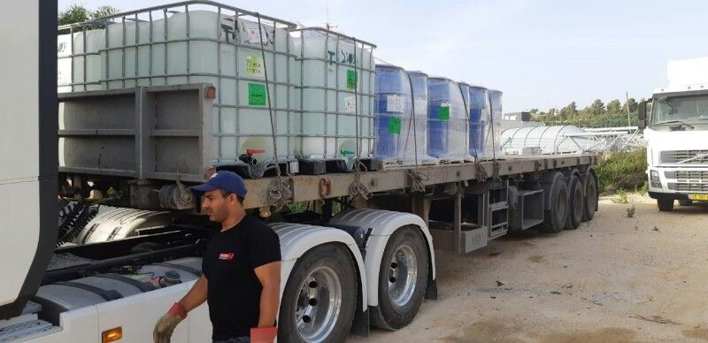 Israeli foils smuggling of 5 TONS of chemicals intended for Palestinian explosives