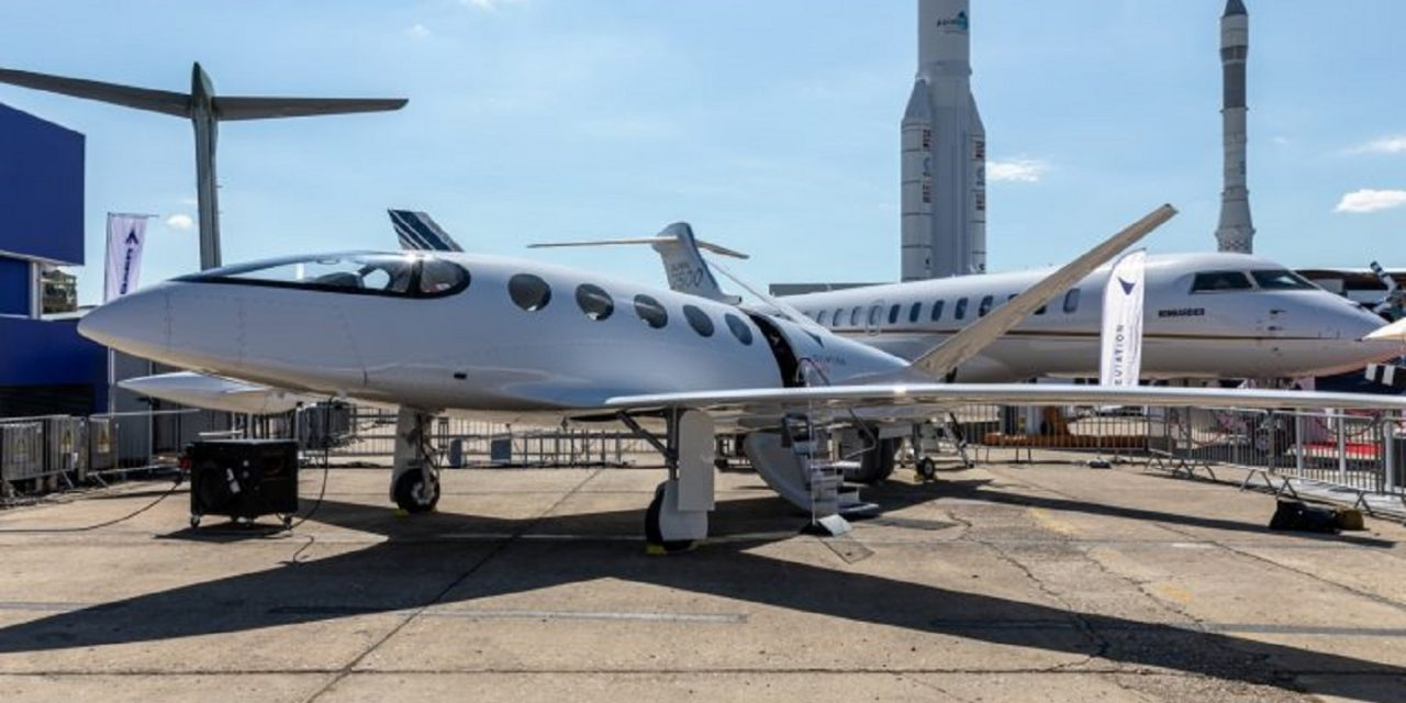 Israeli electric plane unveiled at Paris Air Show