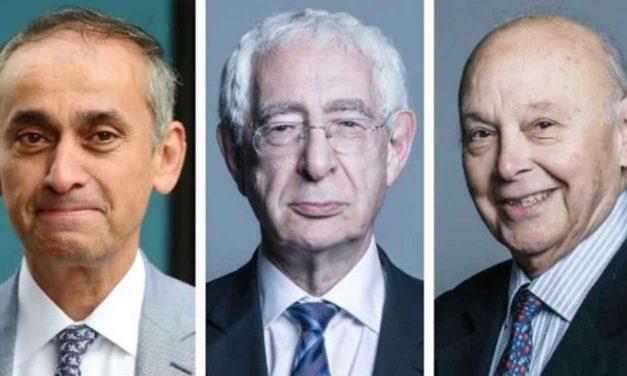 Three Labour peers quit party over anti-Semitism
