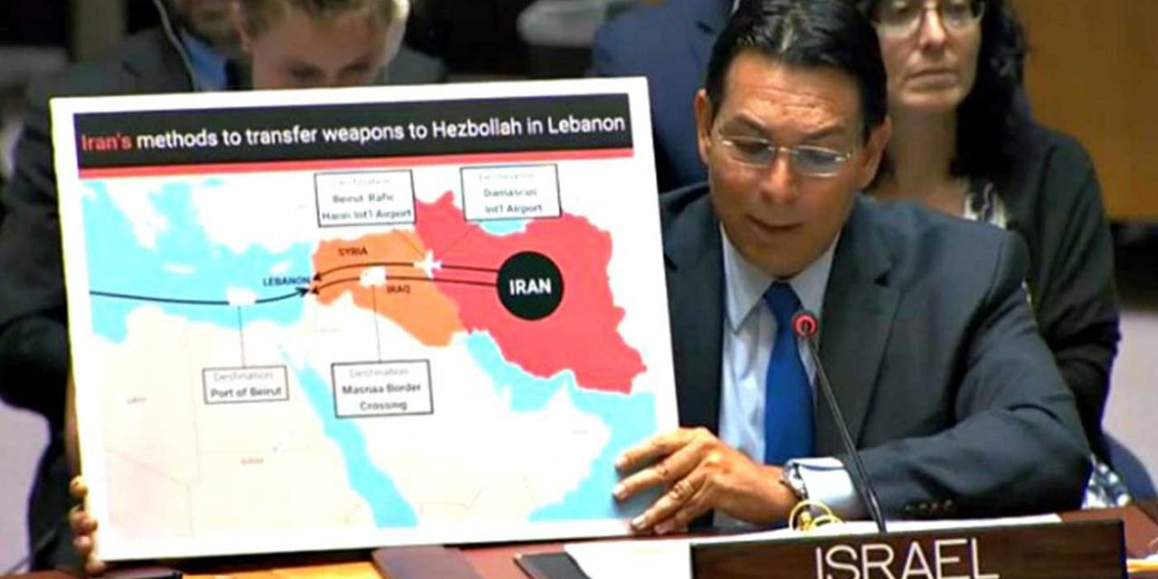 Israel reveals Iran-Hezbollah weapons smuggling into Lebanon using civilian ports