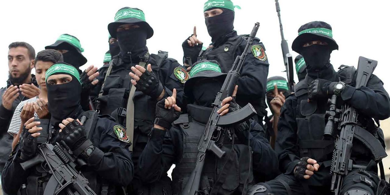 "Hamas conducts ""massive"" military exercise in Gaza"