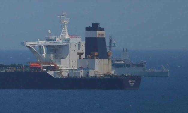 Britain seizes Iranian oil tanker near Gibraltar; Iran threatens British ships