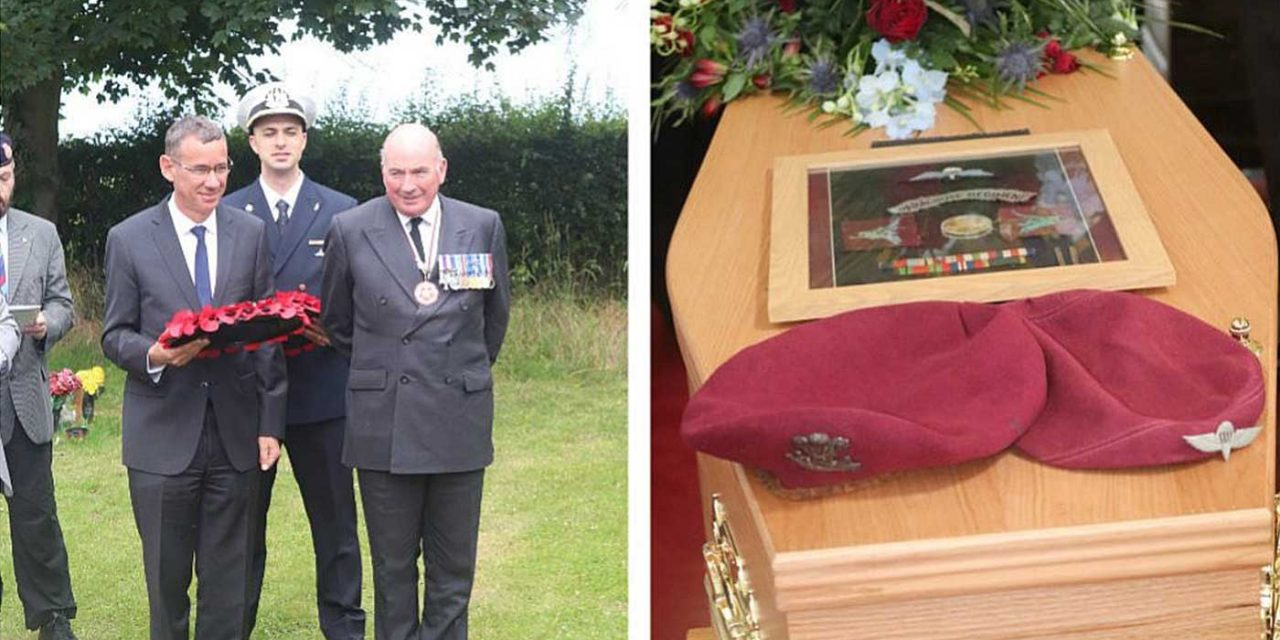 Tributes paid at funeral for British non-Jewish soldier who fought for Israel in 1948