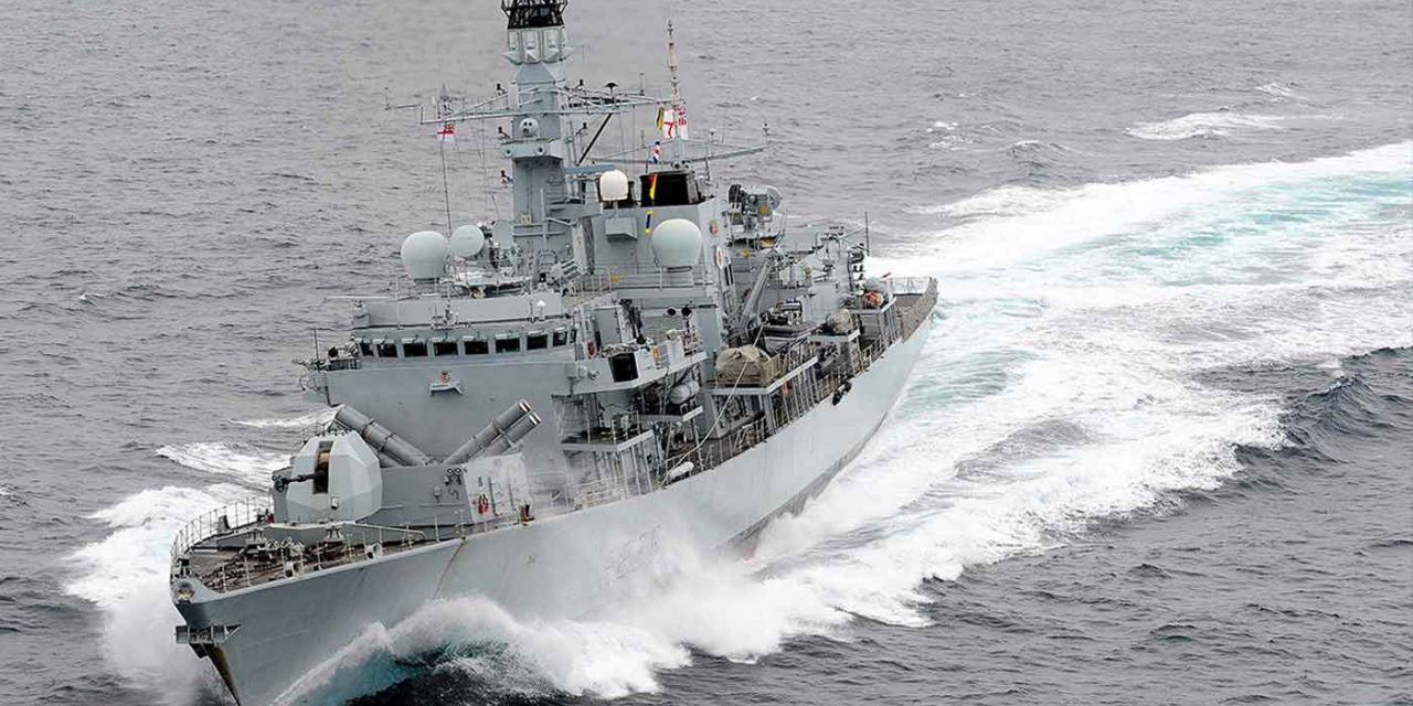 Royal Navy takes command of Gulf mission to protect oil tankers from Iran