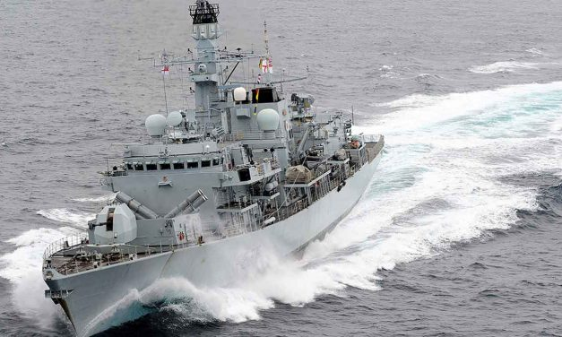 "Royal Navy fends off three Iranian gunships that ""attempted to impede"" British oil tanker"