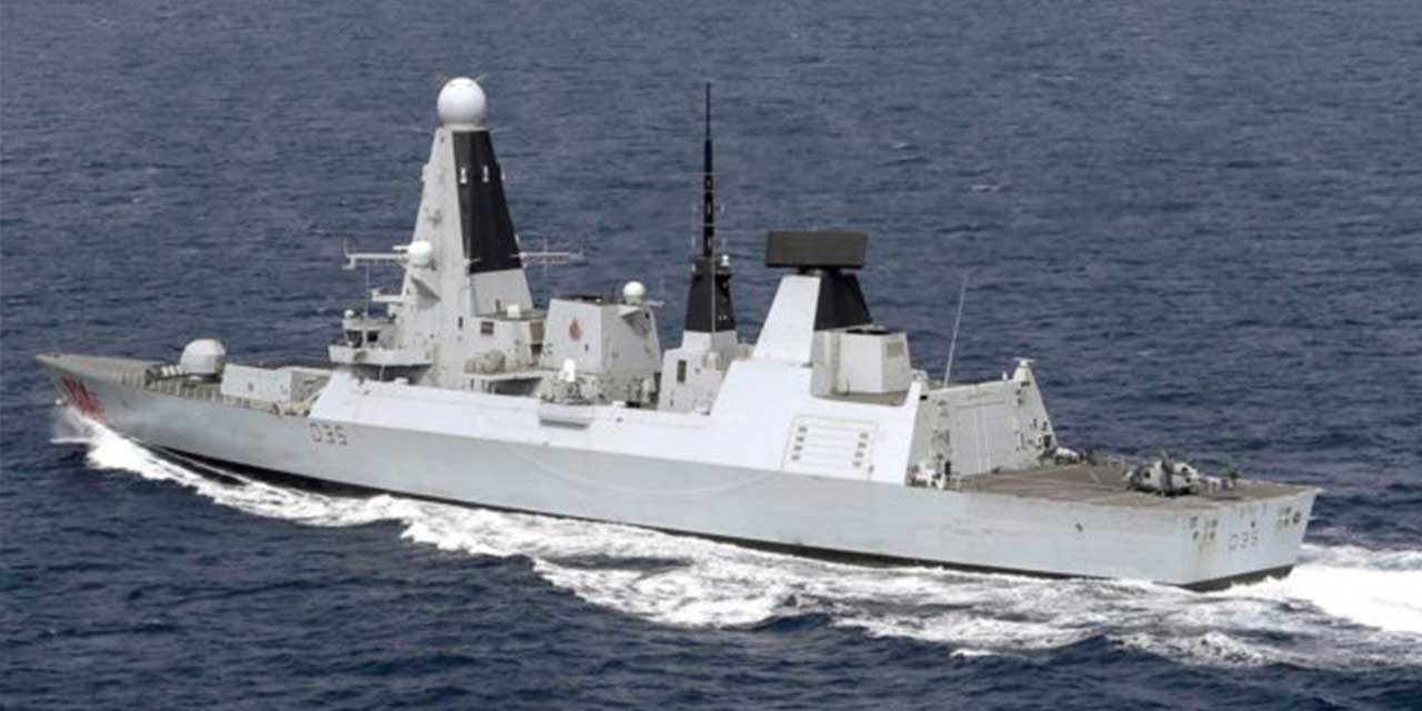 Royal Navy 'Destroyer' arrives in Gulf to begin expanded shipping patrols