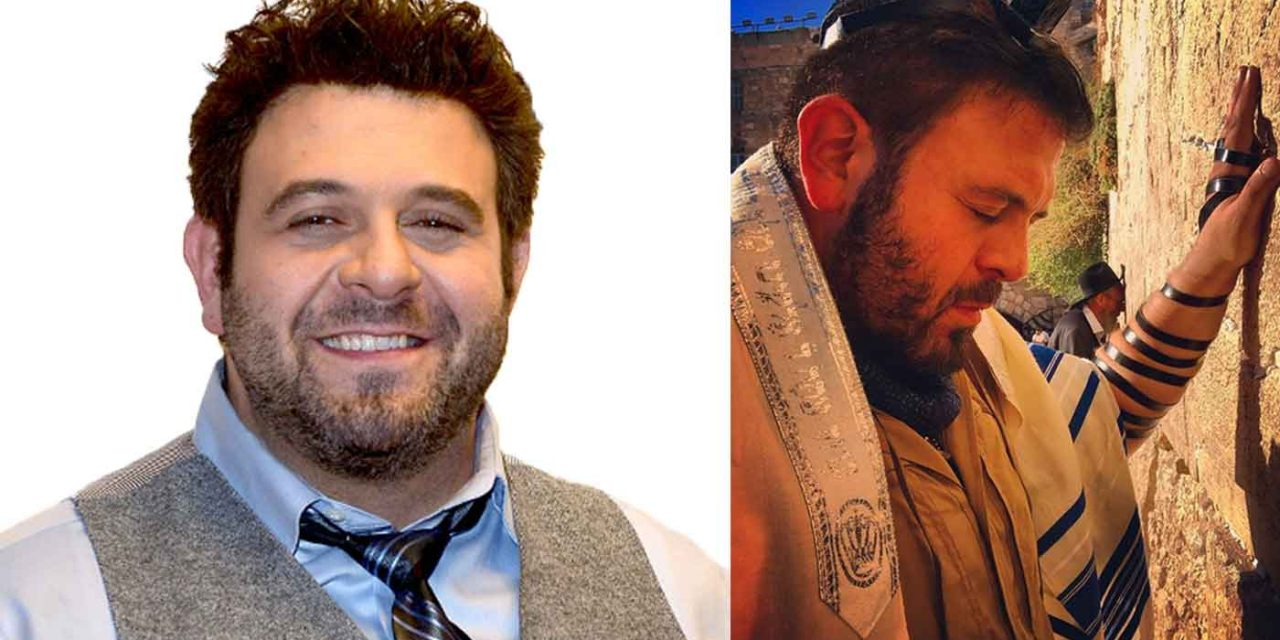 TV host Adam Richman shares powerful experience at Western Wall