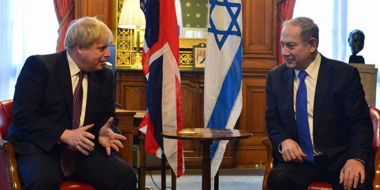 Prime Ministers Johnson and Netanyahu discuss strength of the UK-Israel partnership in phone call