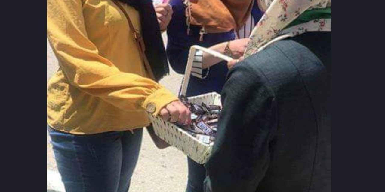 As Dvir Sorek is laid to rest, Palestinians hand out chocolate bars in celebration; Hamas leaders praise the murder