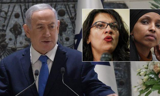 "Netanyahu: Tlaib and Omar intended to ""harm Israel"""