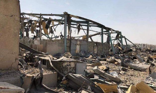 Airstrike was behind blast at pro-Iranian militia base in Baghdad