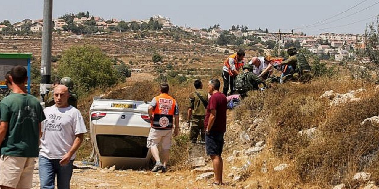 Two Israeli teens injured in car-ramming terror attack