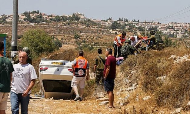 Two Israeli teens injured in car-ramming terror attack