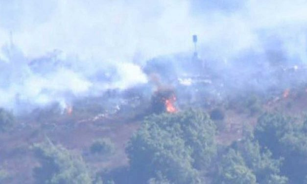 "Hezbollah terrorists start fires on Israel's border as UN ""peacekeepers"" watch on doing NOTHING"