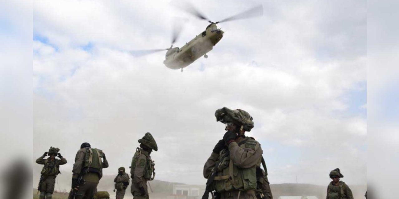 IDF practices evacuating communities close to Gaza and Egypt's Sinai Peninsula