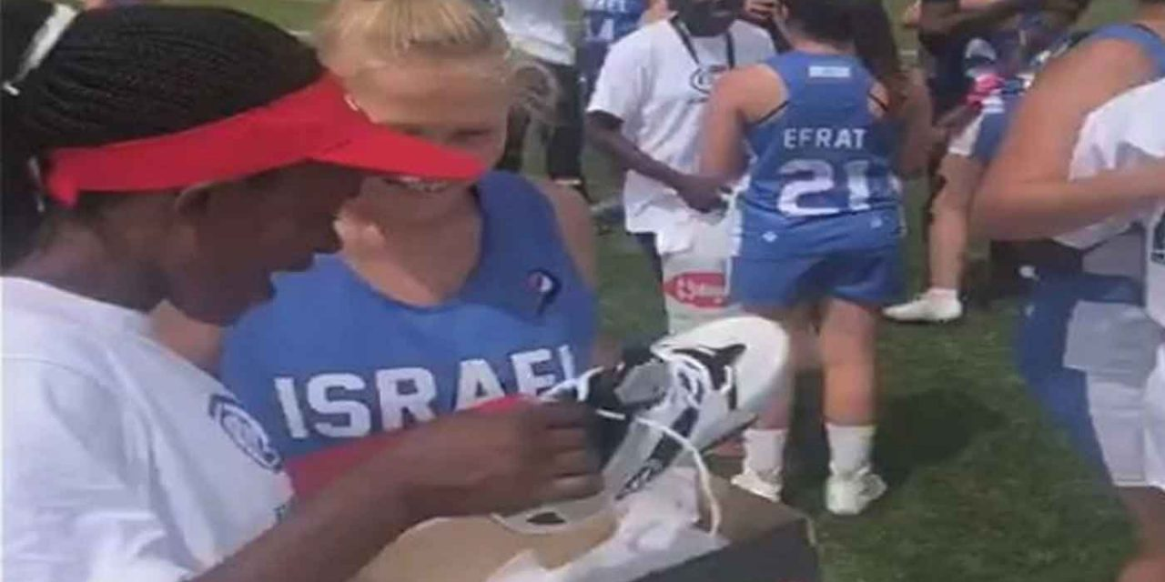 Israeli lacrosse team buys new shoes for cleatless Kenyan rivals