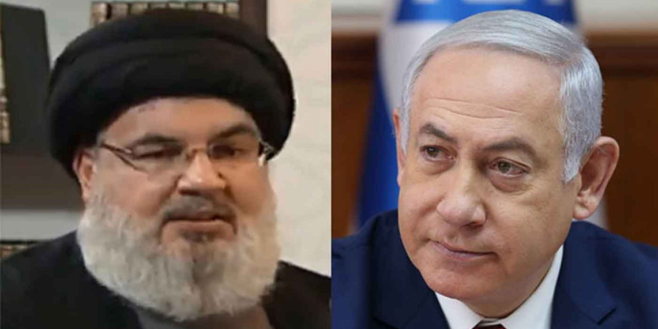 "Netanyahu on Nasrallah's threats: ""He knows very well why he broadcasts from the depths of his bunker"""
