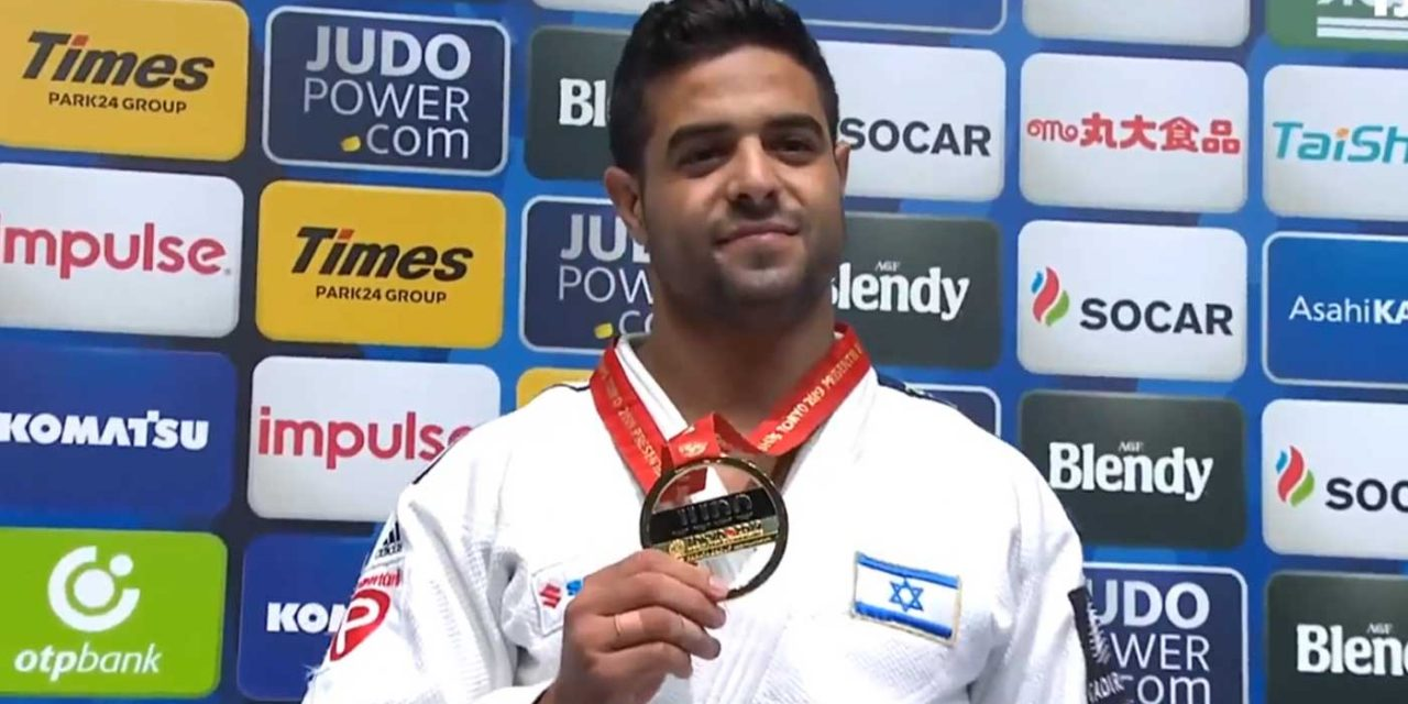 Israeli gold medalist to auction memorabilia for ventilators at local hospital