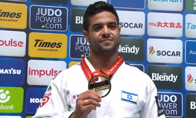 Israeli overcomes anti-Semitism to win gold medal at Judo World Championship