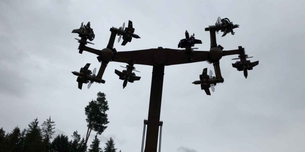 """Germany: """"Swastika"""" ride gets shut down and will be redesigned"""