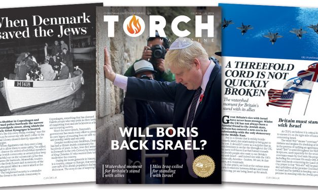 Will Boris back Israel? | Latest TORCH magazine