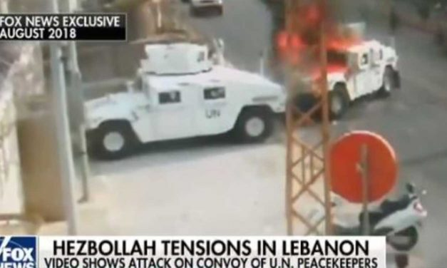 UN convoy attacked by Hezbollah in Lebanon