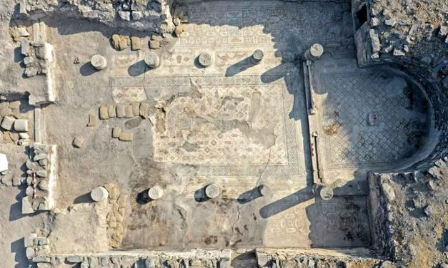 Israeli Archaeologists find rare mosaic possibly pointing to where Jesus fed the 5,000