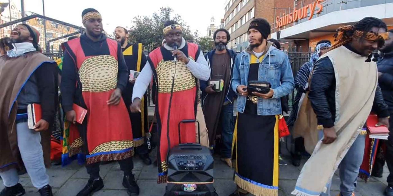 "Black supremacist ""Hebrew Israelites"" preach anti-Semitic hatred in London"