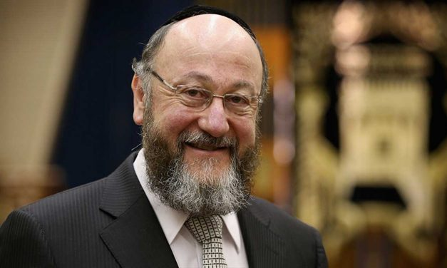 "UK Chief Rabbi says Holocaust memorial outside Parliament will remind leaders to ""fight against hatred"""
