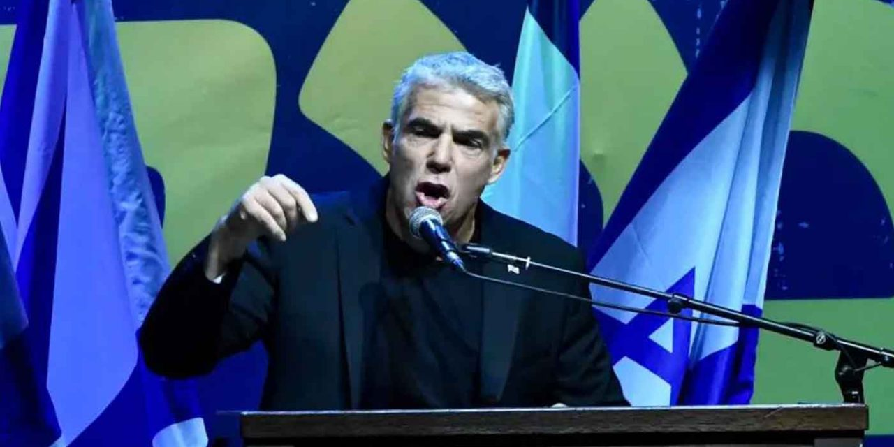 """Israel's Yair Lapid says """"Corbyn is an old-fashioned anti-Semite"""""""