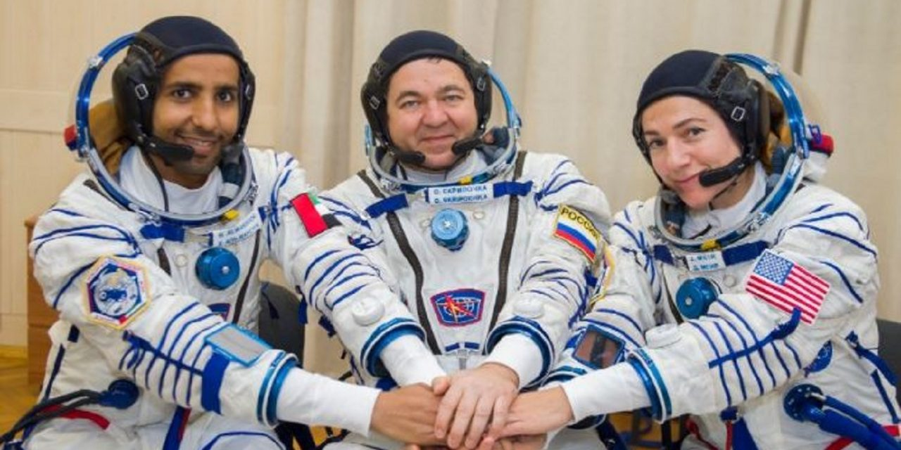 Arab and Jewish astronauts together for historic ISS space mission