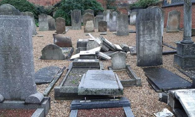 Jewish gravestones smashed at Kent cemetery on Yom Kippur