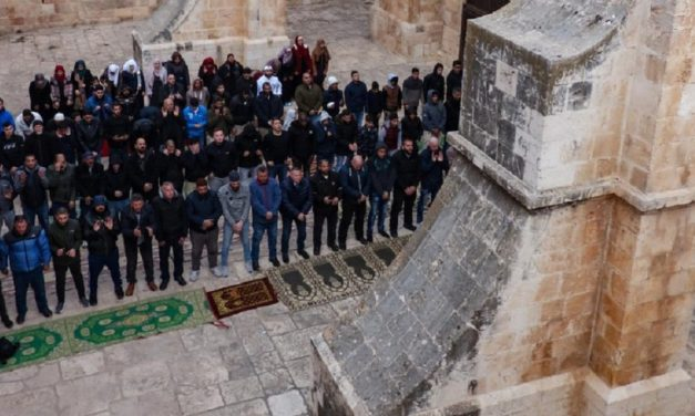 "Israeli police raid illegal ""mosque"" at Temple Mount's ""Gate of Mercy"""