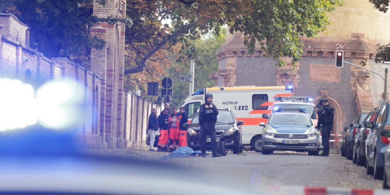 Two killed in synagogue shooting in Germany on Yom Kippur
