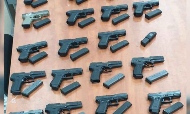 Israeli police foil gun-smuggling attempt from Lebanon