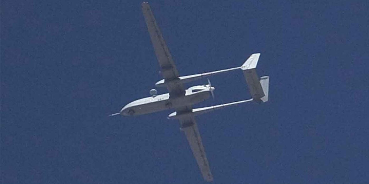 IDF downs Hamas drone flown in from Gaza Strip