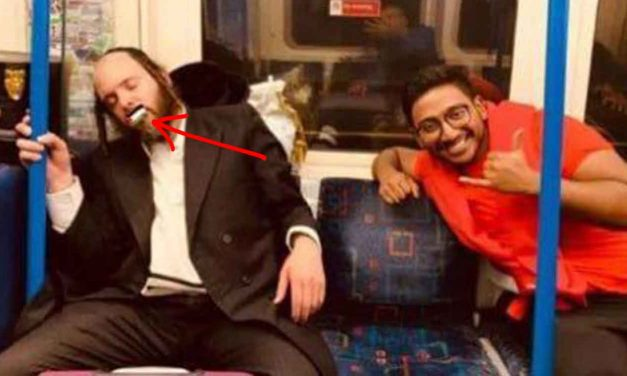 University student EXPELLED for placing Palestinian flag over mouth of sleeping Jewish man