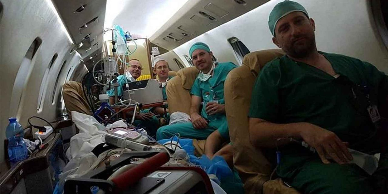 Team of Israeli doctors fly to Cyprus and save woman's life