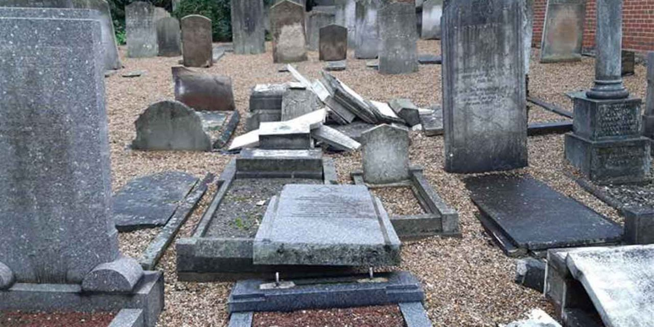 Kent police appeal for witnesses after Jewish graves smashed in Rochester